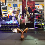 Fitness Expo Aerial Yoga