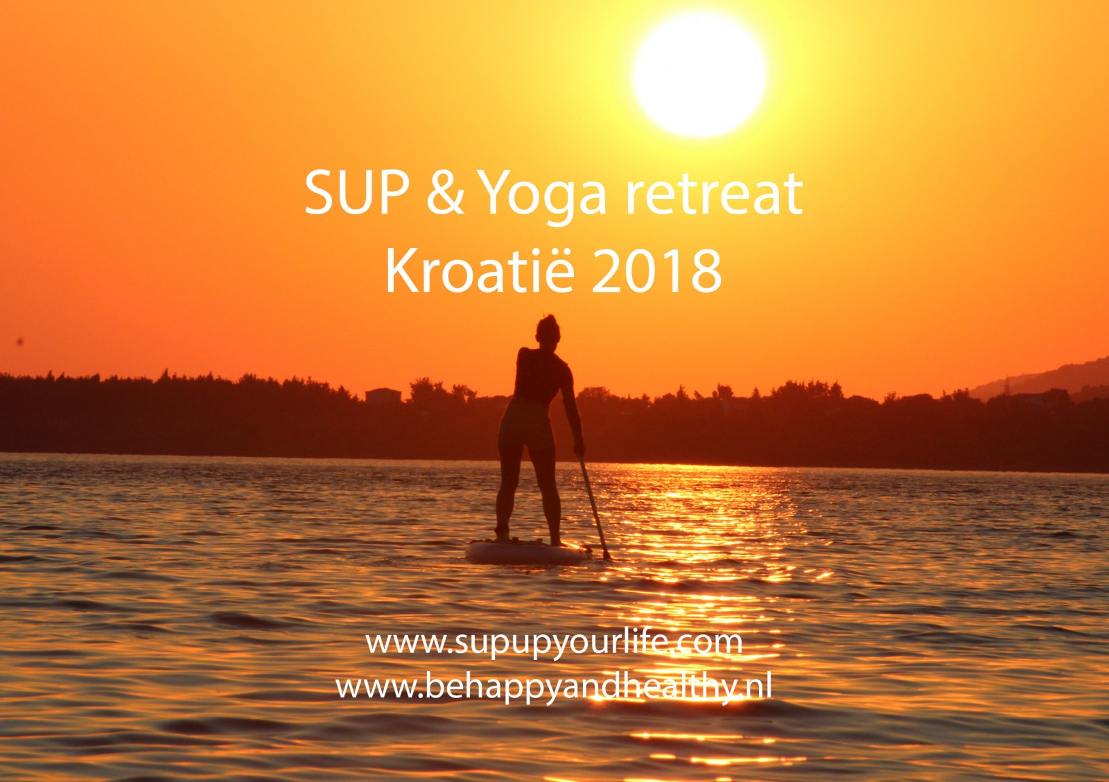 SUP & Yoga retreat Kroatië